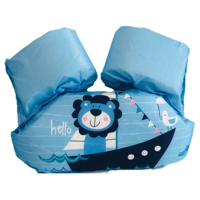 Baby Kids Swim Circle Arm Ring Life Vest Floats Foam Safety Life Jacket  5