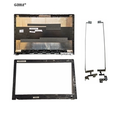 цены GZEELE NEW FOR Lenovo IdeaPad G500 G505 G510 G590 LCD Front Bezel laptop LCD top cover case LCD BACK COVER AP0Y0000B00/LCD hinge