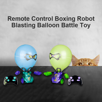 Robo Ball-oon Puncher Toy Mixed Colours Multiplayer Game Kid Ball-oon Fight Game Children Doll Toys For Kids image