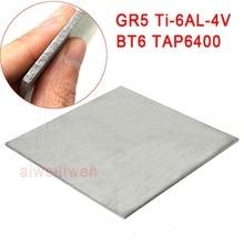 5 мм 140x45 мм gr5 gr5 титановая Ti-6AL-4V пластина из титанового сплава BT6 TAP6400 специально для ультразвуковой медицинской помощи