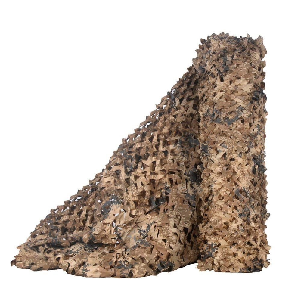 Sniper Camo Netting Camouflage Net Blinds Ghillie Suits Great For Sun Shelter Military Tactical Clothing  Shooting Hunting