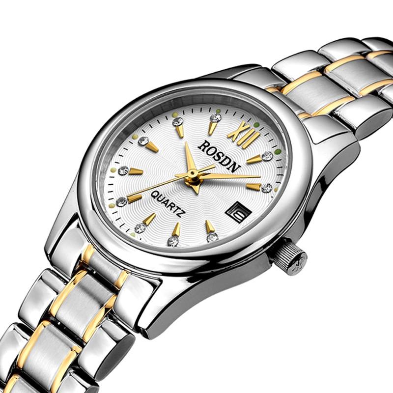 Women's Watches Luxury Brand ROSDN Japan MIYOTA Quartz Movement Waterproof Fashion Sapphire Watches Ladies Couples Watch R3053W