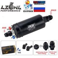 LZONE - EFI 380LH 1000HP bomba de combustible externa de alta calidad E85 Compatible 044 estilo nuevo con PQY Box JR-FPB003-QY