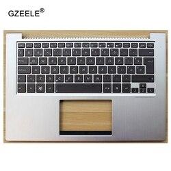 GZEELE новый для ASUS UX32A UX32E UX32V UX32VD UX32K UX31A UX31E BX32 чехол для поддонов C оболочка с Irving подсветкой Клавиатура серебро