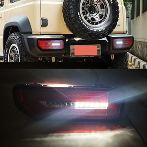 Image 4 - CSGJMY 2PCS LED Reflector TailสำหรับSuzuki JIMNY 2019 2020ไฟท้ายด้านหลังโคมไฟที่จอดรถเบรคกระแสเงินสดเปิดสัญญาณ