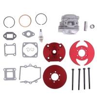 44mm Big Bore Cylinder Shaft Piston Kit for 49CC 2 Stroke Mini Dirt Pocket Bike