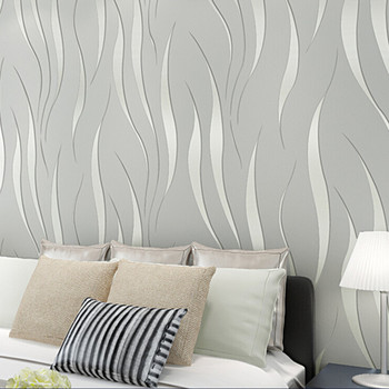 Modern 3D Embossed Abstract Geometric Wallpaper Roll Bedroom Living Room Home Decor Self-adhesive Wall Sticker Grey Beige White grey silver textured wallpaper home decor modern abstract living room background brick stone concrete industrial wall paper roll