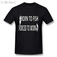 Футболка с забавным юмористическим изображением рыболовника