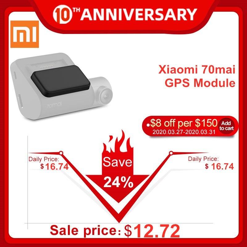 Xiaomi 70mai GPS модуль для 70mai Dash Cam Pro Поддержка электронной собаки функция двойного режима позиционирования международная версия