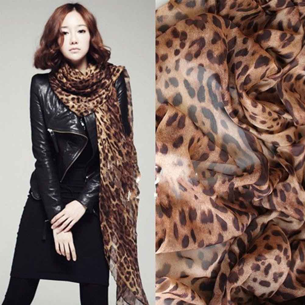 Travel Soft Casual Accessories Thicken Fashion Wrap Comfortable Warm Winter Accessory Leopard Print Women Scarf