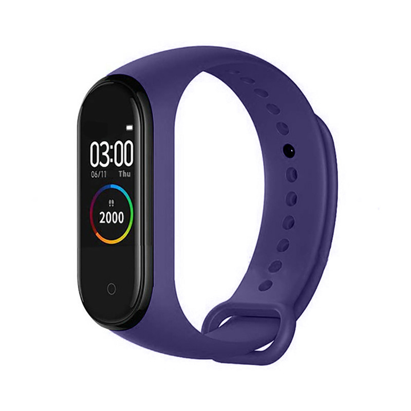 <font><b>M4</b></font> <font><b>Smart</b></font> <font><b>band</b></font> 4 Fitness Tracker Watch Sport bracelet Heart Rate Blood Pressure Smartband Monitor Health Wristband For XiaoMi IOS image