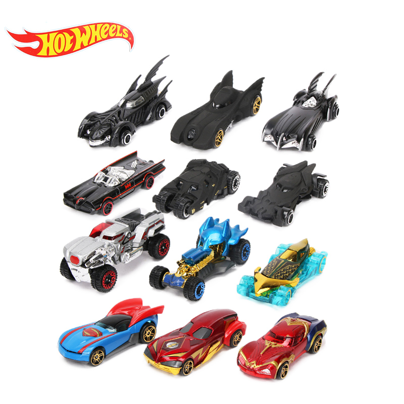 New 12pcs/set Hotwheels Cars Hot Wheels 1:64 Fast And Furious Diecast Cars Avengers Infinity War Alloy Cars Set Truck Model Car