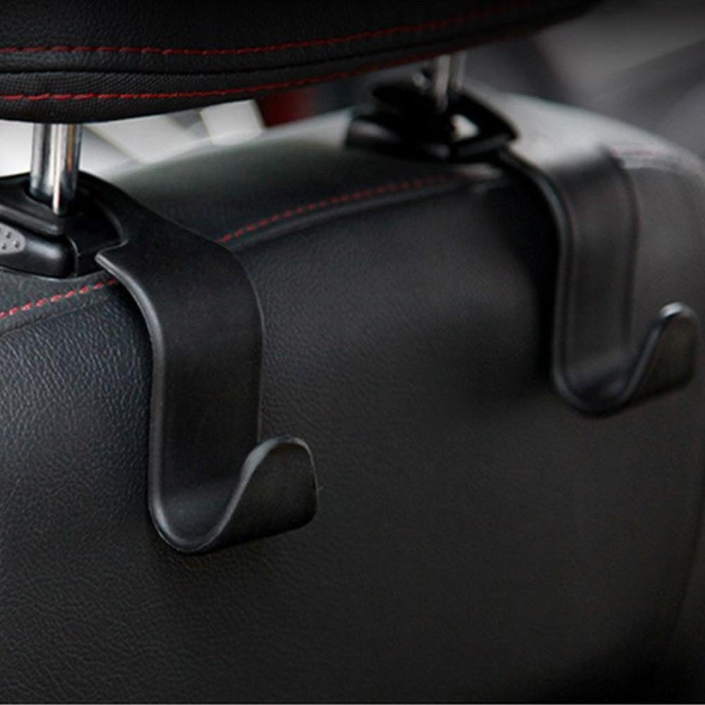 Креативный Органайзер на автомобильное сиденье, крючки для пальто и спинки, универсальный держатель для хранения на подголовник, Простой С...