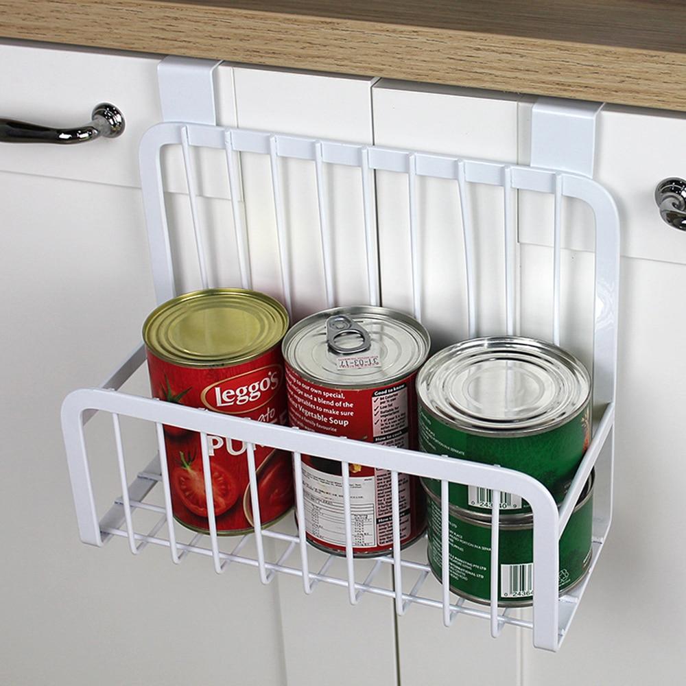 Over The Cabinet Kitchen Storage Organizer Metal Hanging Storage