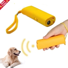 Dog-Trainer Repeller Pet-Dog Anti-Barking-Stop Ultrasonic High-Quality LED 3-In-1