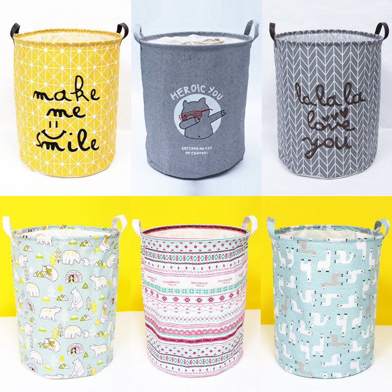 INS Nordic Colorful Storage Bag Newborn Baby In The Crib Infant Room Decor Photography Props Baby Bedroom Decoration Pacifying