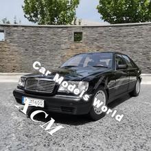 Döküm Görev Model Araba Modeli için S600 (Siyah) 1:18 + KÜÇÜK HEDIYE!!!!