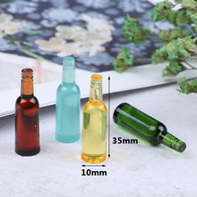 Drink-Bottle Miniature-Toy Dollhouse Living-Room-Accessories Kitchen Beer 1:12 New Wine