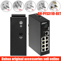 Dahua DH PFS3110 8P 96 niezarządzany dwuwarstwowy przemysłowy przełącznik poe obsługuje standardową PFS3110 8P 96 IEEE802.3af  IEEE802.3at|Skrzynie biegów i kable|Bezpieczeństwo i ochrona -
