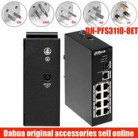 Suporte industrial ieee802.3af do interruptor do ponto de entrada de duas camadas de dahua DH PFS3110 8P 96  padrão PFS3110 8P 96 de ieee802.3at Transmissão e cabos     -