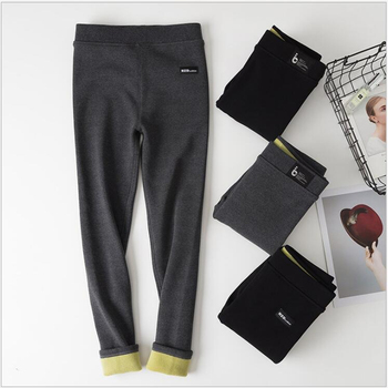 Women Legging Cotton Legging winter Spring Lamb cashmere High Waist Thick Large Size Solid Legging Calzas Mujer Leggins F162 фото