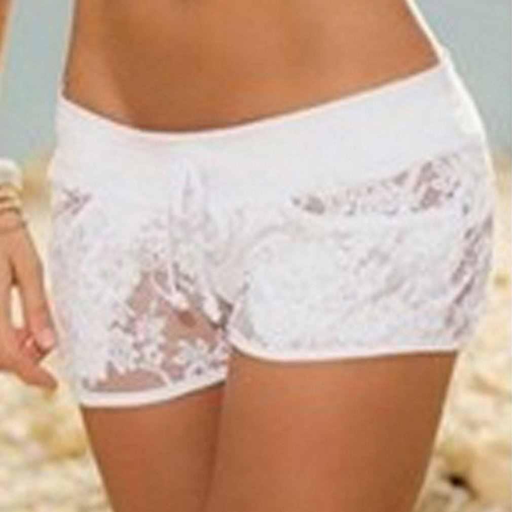 Kobiety Super niskiej talii krótkie spodnie dżinsowe lato Sexy wygodne Party stałe szorty damskie