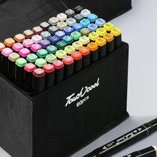 Набор маркеров для рисования 30/40/60/80/168 цветов