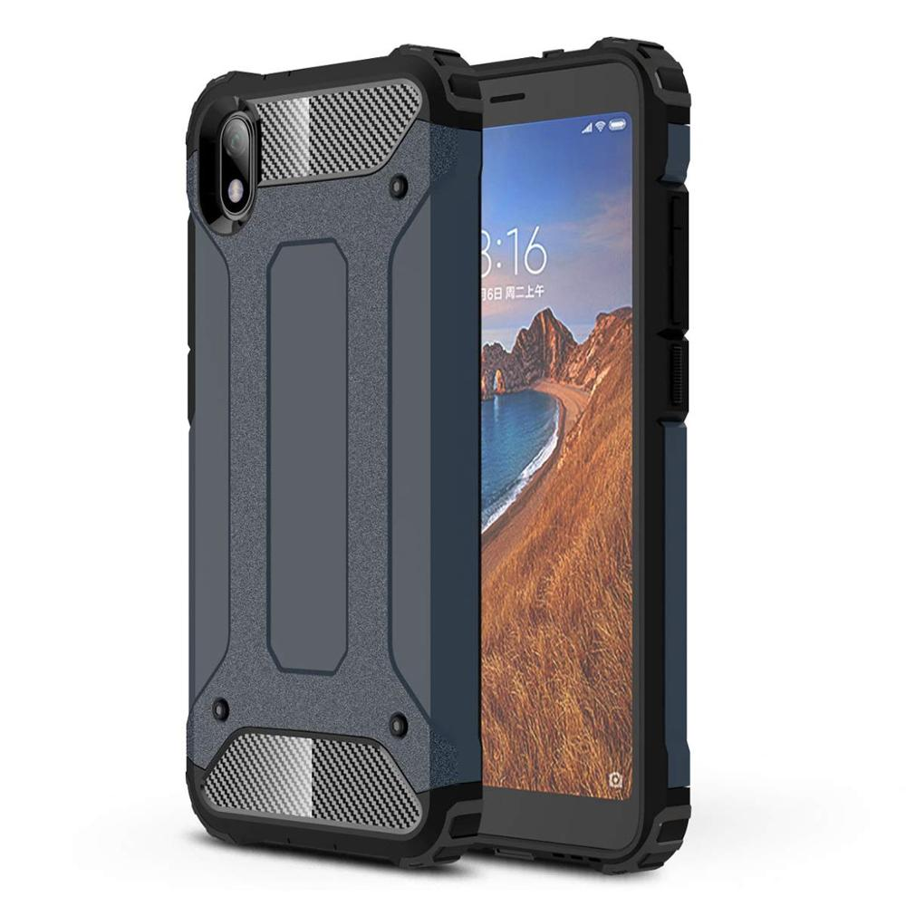For Xiaomi Redmi 7A Case For Redmi 5A Cover Tough Armor Rubber Shockproof Hard Back Cover For Xiaomi Redmi 6A Case On Redmi 4A