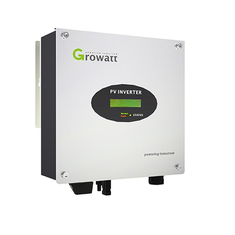 Growatt Solar Inverter  2500w 2.5kw 3000w 3kw 220v Single Phrase Mppt Inverter Pure Sine Wave On Grid Solar Power System