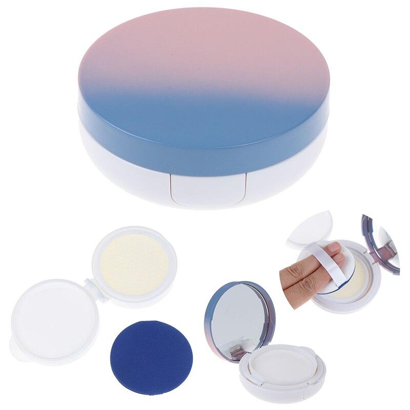 1pcs DIY Beauty Make Up Case Air Cushion Sponge Powder Puff Empty Box Liquid Foundation BB Cream Sponge Dispensing Hold Cases