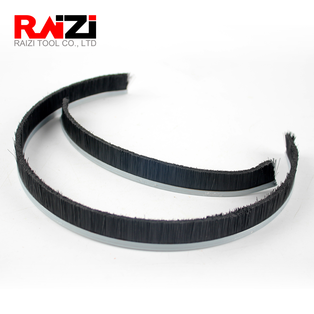Raizi 1 Pc Separable Brush For 125/180 Mm Dust Shroud Cover Tool Grinder Shroud Replaceble Brushes