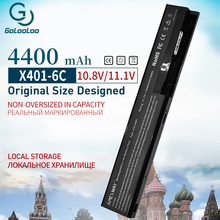 Buy 4400mAh New Laptop Battery for Asus A31-X401 A32-X401  A41-X401 A42-X401 F401 F501 F301 S401 S501 S301 X401A X501 X301 directly from merchant!