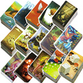 Mini tell story DlXlT card games, 78 playing cards, Daydreams/Memories Illustrations board game for kids family party table game