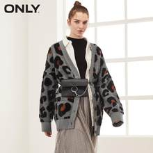 ONLY Autumn Winter Women's Leopard Print Cardigan | 11933B511(China)