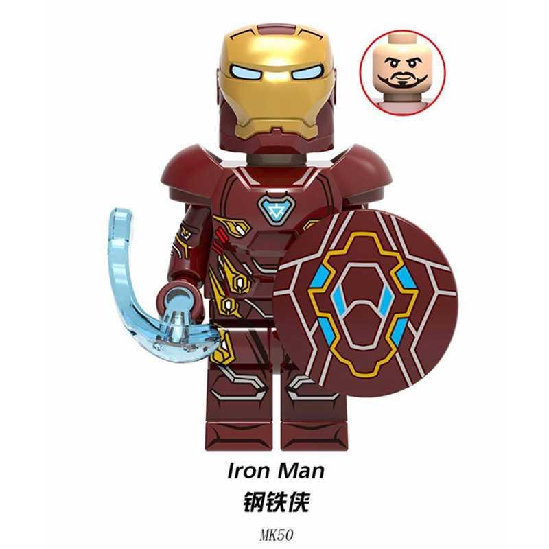 מארוול נוקמי דמויות סוף המשחק איש ברזל Thor תאנסו ספיידרמן באטמן האלק קפטן מארוול סופר גיבורי אבני בניין ילדי צעצועים
