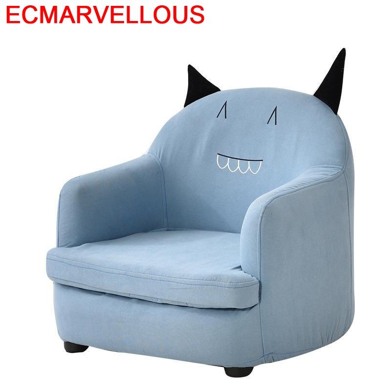 Canape Seat For Bed Recamara Mini Divan Lazy Bag Small Kids Infantiles Chambre Enfant Baby Dormitorio Infantil Children's Sofa