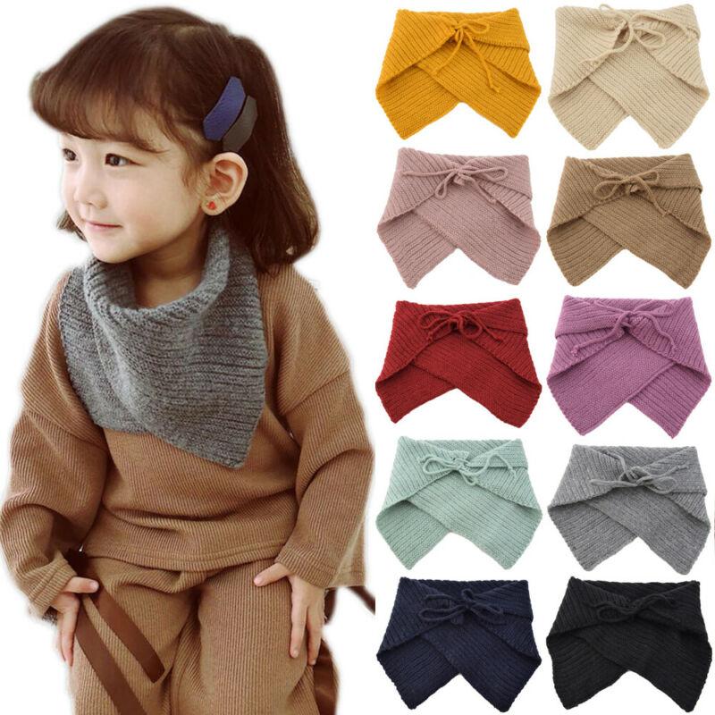 Kids Newborn Girl Boy Baby Warm Winter Scarf Fashion Muffler Neckerchief Wrap