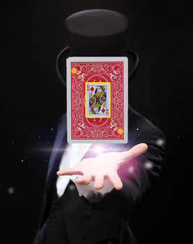 2019 New Secret Marked Poker Cards See Through Magical Poker Playing Cards Magic Props Party Toys Magic Tricks For Kids party magic tricks prop and training set shrinking cards