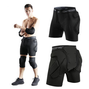 Shorts Protective Hip-Padded Snowboard Outdoor Men for Men's Women