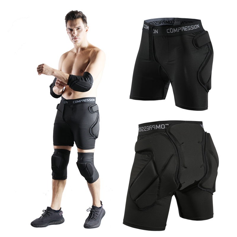 <font><b>Men's</b></font> <font><b>Women</b></font> Outdoor Snowboard protection Hip Padded <font><b>Shorts</b></font> <font><b>Sport</b></font> <font><b>Short</b></font> Pants for Skating <font><b>Sports</b></font> Protective Snowboard <font><b>Shorts</b></font> image