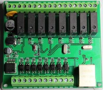 Ethernet Remote IO Module, Modbus-TCP / IP Protocol, RJ45 Interface, 8DI / 8DO