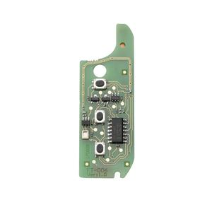 Image 3 - 433Mhz 3 לחצנים דלפי מערכת מרחוק רכב מפתח Fob עם PCF7946 שבב Fit עבור אלפא/רומיאו