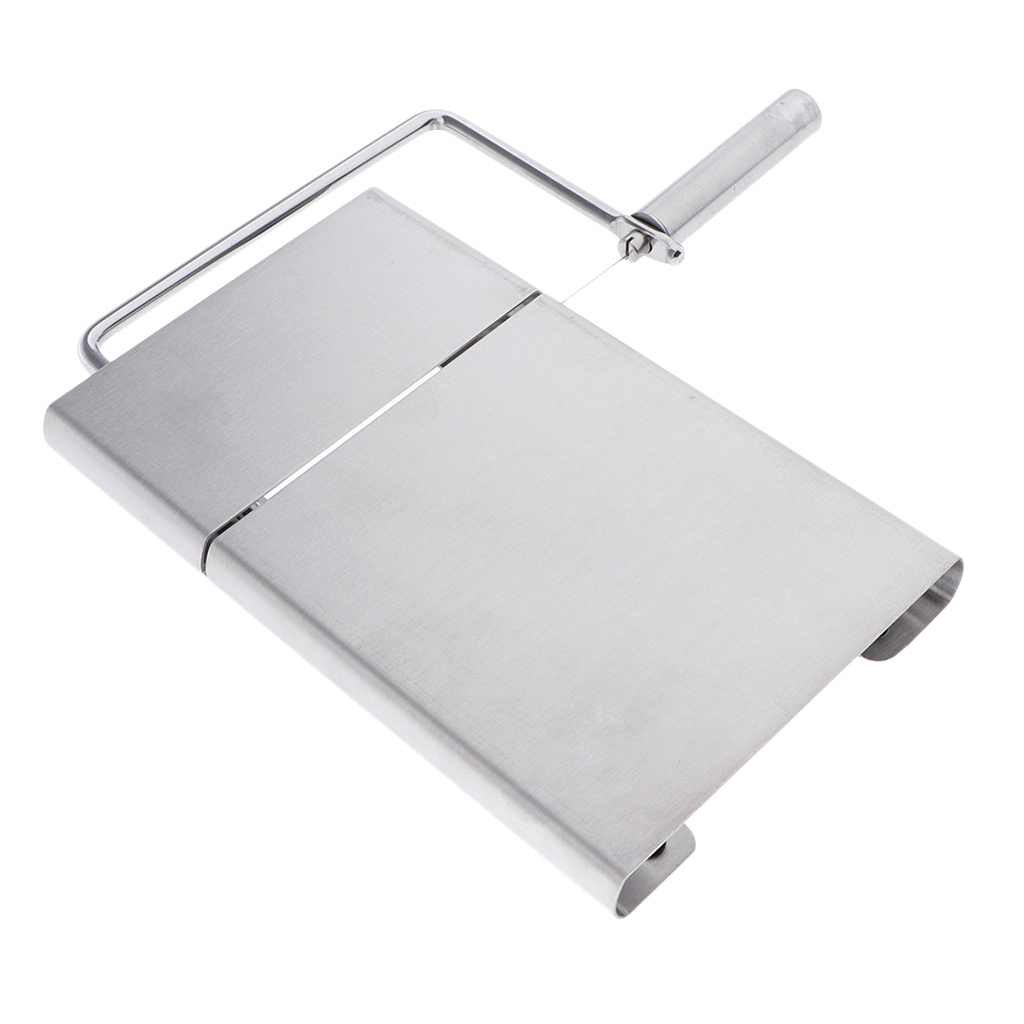 Stainless Steel Soap Cutter Loaf Mold Soap Making Cutting Tools With Soap Wire Slicer, Portable