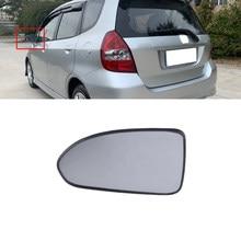 CAPQX araba dikiz aynası cam Lens Honda Fit caz için GD1 GD3 2005-2008 Fit sedan 2003-2006 şehir 2007 2008 GD6
