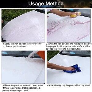 Image 5 - 500ml מכונית סגסוגת גלגל ספריי לניקוי חלודה Remover עבור צבע אוטומטי בצור חישוקים צמיג טיפול המפרט כביסה כלים אבזרים