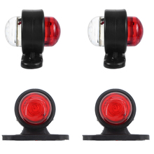 4PCS 12v-24v Universal Truck Trailer Tail Light Side Marker Indicators Light Lamp Small Lights car Edge Lights Signal Accesorios
