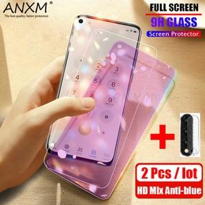 Image 1 - Protector de pantalla de vidrio templado para móvil, película protectora de vidrio para Huawei Honor 30 20 Pro, 2 uds.