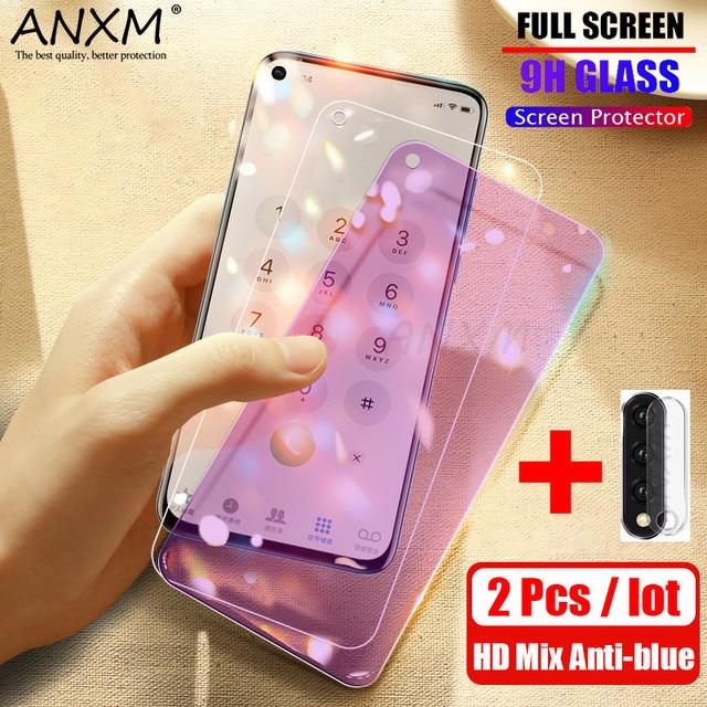 Protector de pantalla de vidrio templado para móvil, película protectora de vidrio para Huawei Honor 30 20 Pro, 2 uds.