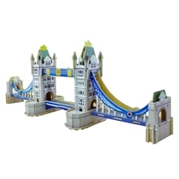PUZZLE 3D Wood BRIDGE LONDON Cebekit C-9722