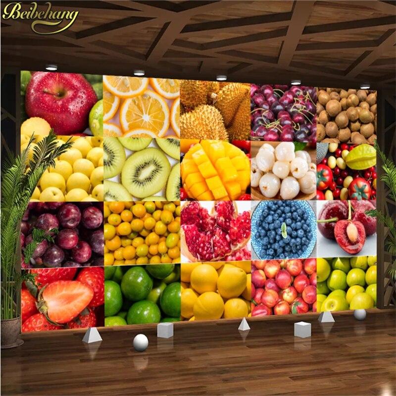 beibehang custom photo wallpaper HD Artistic orange fruit living room backdrop 3d large Delicious fresh fruit